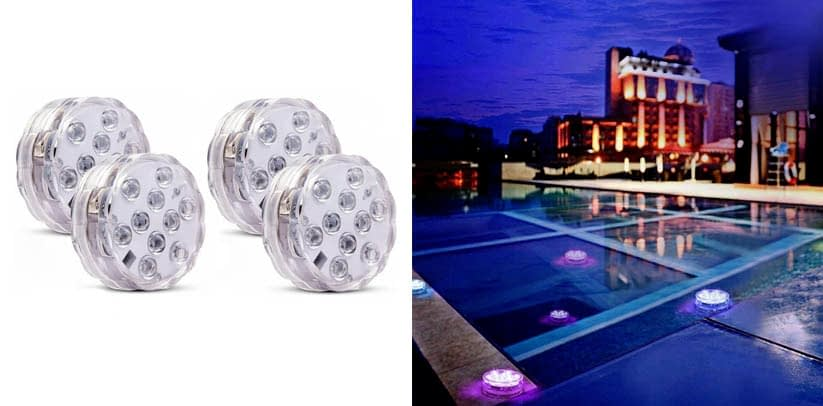 Honfeng Submersible LED Pond Lights