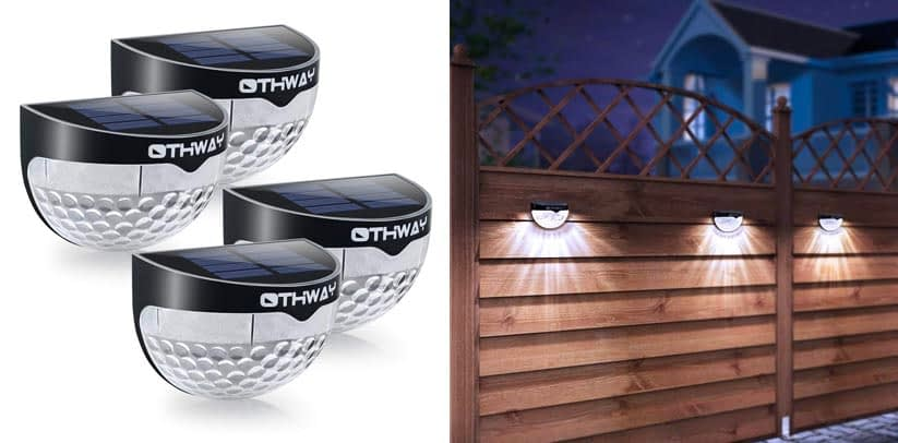 Othway Multipack Wall-Mounted Deck Lights