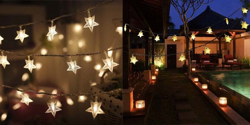 Twinkle Star LED Lights