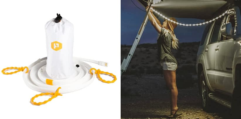 Power Practical Luminoodle - Portable LED Light Rope and Lantern