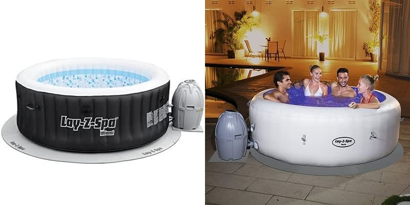 Lay Z Spa Inflatable Hot Tub Pump and Base Protector