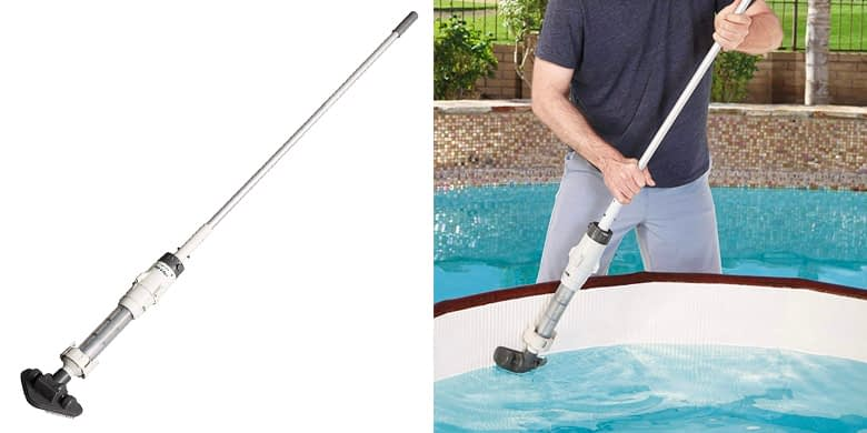 3. Lay-Z-Spa Rechargeable Cordless Vacuum for Hot Tubs