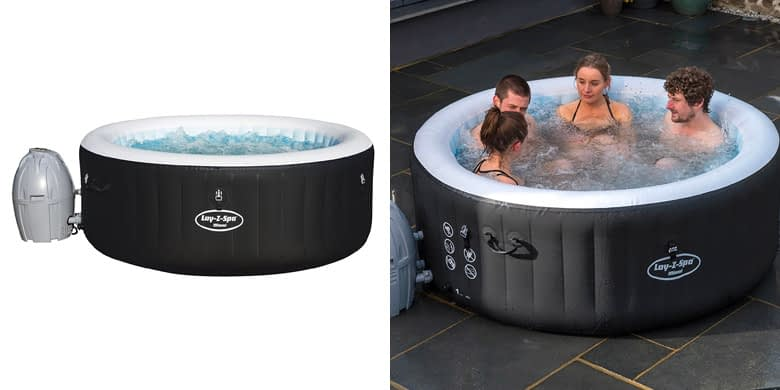 1. Lay Z Spa Miami 2 Person Inflatable Hot Tub