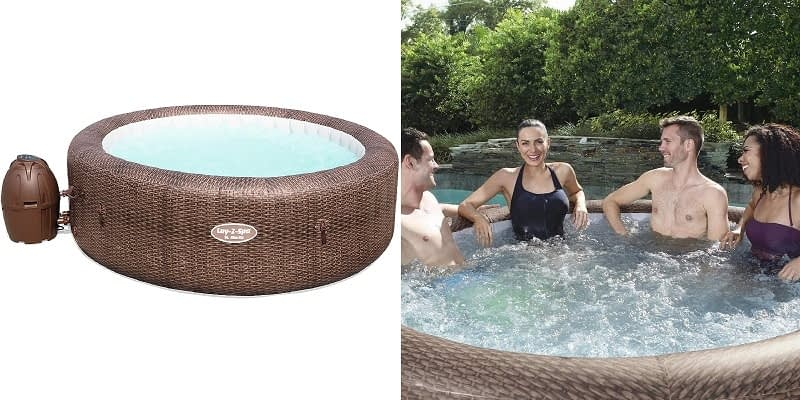 Lay-Z-Spa St Moritz 5-7 person Portable Hot Tub