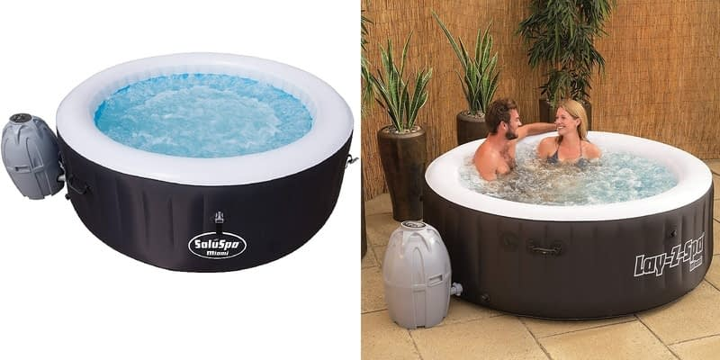 Lay-Z-Spa Miami 2-4 person Inflatable Hot Tub Spa