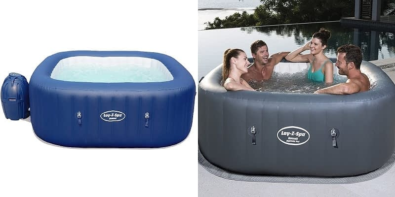 Lay-Z-Spa Hawaii HydroJet Pro Square Hot Tub
