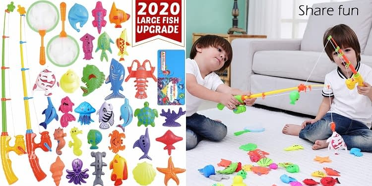 Kids Magnetic Fishing Board
