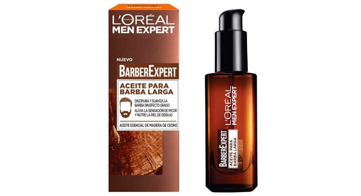 L'Oréal Paris Men Expert Barber Club Aceite Hidratante para Barba