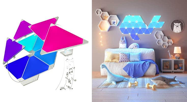 Nanoleaf Rhythm Larger Kit