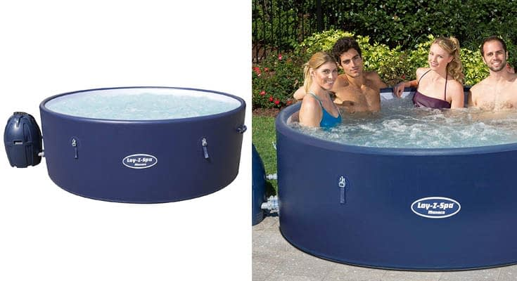 Bestway Lay-Z-SPA Monaco AirJet Inflatable Hot Tub