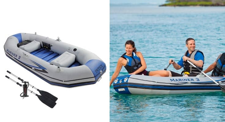 Intex 68373NP - Barca Hinchable Mariner 3