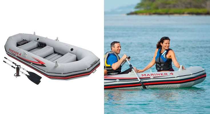 Intex 68376NP Barca Hinchable Mariner 4