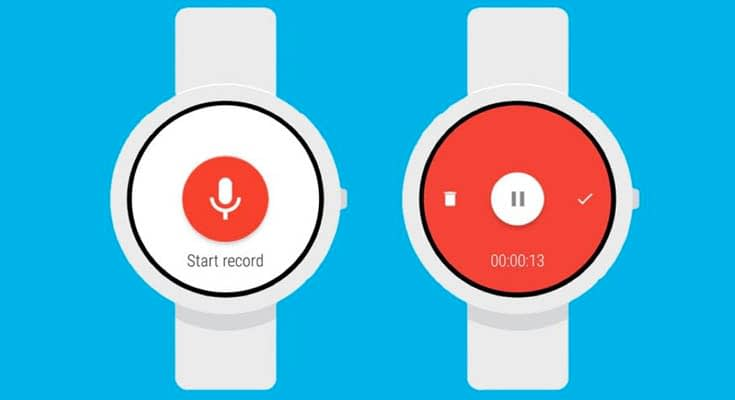 Wear Audio Recorder Smartwatch App Para Android