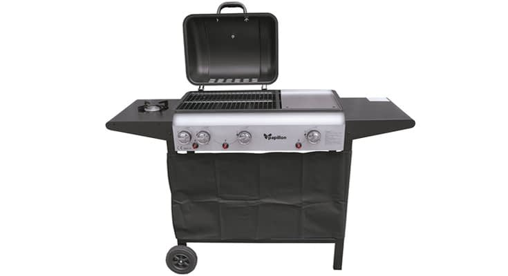 PAPILLON 8130205 Barbacoa Gas 130x48x97