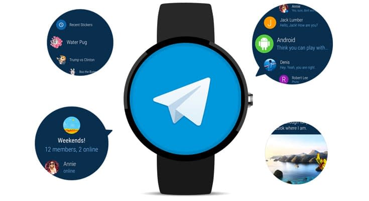 Telegram Smartwatch App Para Android